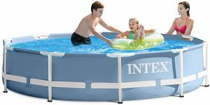 8. Intex 10ft X 30in Prism Frame Pool Set with Filter Pump