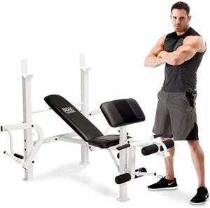 8. Marcy Diamond Elite Multipurpose Home Gym Weight Bench