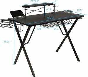 9. Atlantic Gaming Original Gaming-Desk Pro