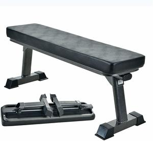 9. Finer Form Gym Quality Foldable Flat Bench