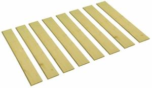 9. The Furniture Cove Detached Custom Cut Bed Slat Support Boards