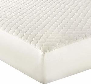 9. Whisper Organics 100% Organic Cotton Quilted Crib Mattress Pad