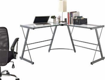 Ameriwood Home The Works L-Shaped Desk