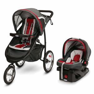 8. Graco FastAction Fold Jogger Travel System