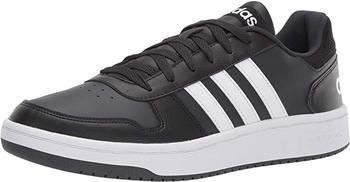 9. The Adidas men's hoops 2.0 sneakers
