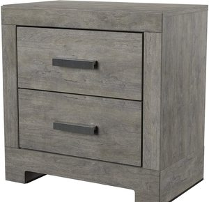 #1 Ashley Furniture Signature Design Gray Culverbach Nightstand