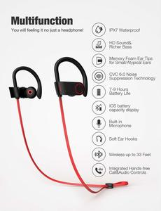 1. Otium IPX7 Bluetooth Headphones