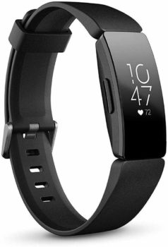 10. Fitbit Inspire HR Heart Rate & Fitness Tracker