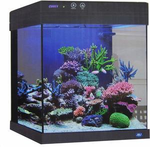 2- Cubey JBJ 20 Gallon Black Aquarium