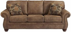 #2 Signature Design by Ashley, Earth, Larkinhurst Contemporary Sofa