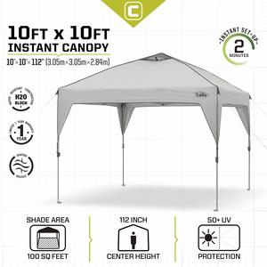 2. CORE 10' x 10' Instant Shelter Tent