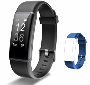 2. Lintelek Fitness Tracker with Heart Rate Monitor