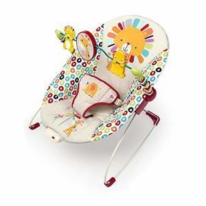 #3- Bright Starts Playful Pinwheels Bouncer