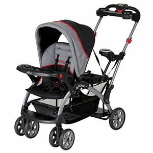 #4- Baby Trend Sit N Stand Ultra Double Stroller