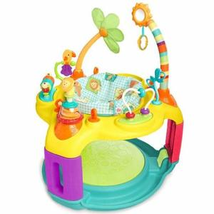 #4- Bright Starts Springin' Safari Bounce-a-Bout Activity Center