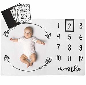 #5- Henry Hunter Baby Milestone Blanket