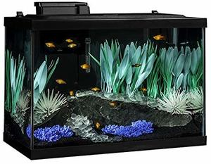 5- Tetra 20 Gallon Complete Aquarium Kit w filter