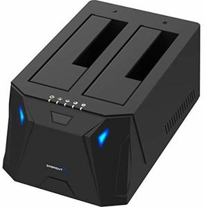 5. Sabrent USB 3.0 to SATA External Hard Drive Docking Station