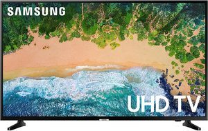 #5. Samsung Electronics 50-Inch 4K LED Smart TV (2018) (UN50NU6900FXZA)