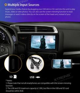5. XTRONS 7 Inch Android Auto Car Stereo Player