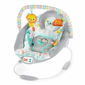 #6- Bright Starts Whimsical Wild Cradling Bouncer Seat