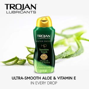 #7 Trojan Lubricants H2O, Sensitive Touch, 5.5 Oz