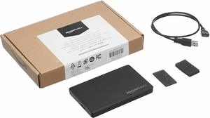 7. AmazonBasics SATA HDD or SSD Hard Drive Enclosure