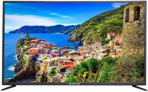 #7. Sceptre 50-Inch 4K UHD LED TV, Metal Black