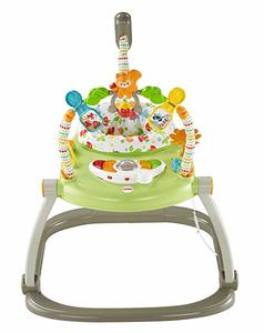 8- Fisher-Price Woodland Friends SpaceSaver Jumperoo