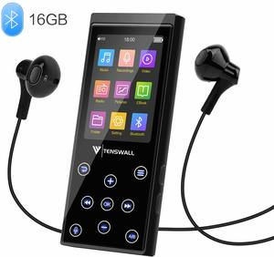 #8. MP3 Player, 16GB Portable MP3 Player with FM Radio