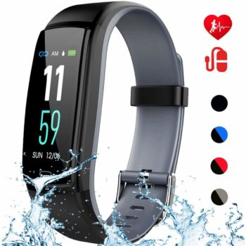 8. Mgaolo Fitness Tracker with Heart Rate, Blood Pressure, and Sleep Monitor