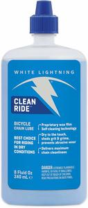 8. White Lightning Self-Cleaning Wax Bicycle Chain Lubricant