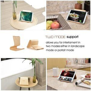 #1 SAMDI Wood Tablet Stand