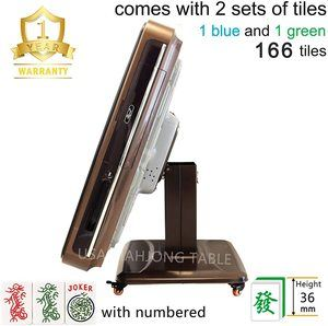 #1 USAMJTABLE 166 American Tiles 36mm Ultra Thin Folding Automatic