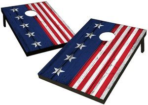 #10 Wild Sports TT-SAS-02 USA Flag Cornhole Outdoor Game Set