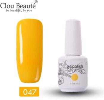 #10. Clou Beaute Gelpolish Soak-off UV Led 15ml