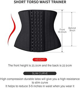 #10. SHAPERX Women's Waist Trainer