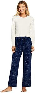 #12 Lands' End Women's Knit Pajama Set