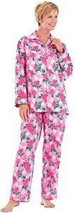#13 Floral Flannel Pajamas
