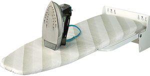 #2. Wall-Mounted Ironing Board