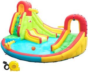 #3 WELLFUNTIME Heavy Inflatable Water Slide Park