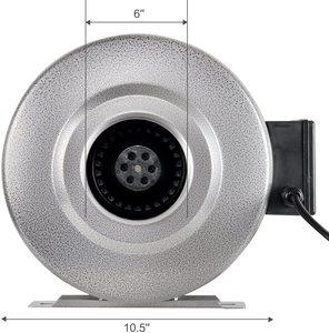 #3 iPower 6 Inch 442 CFM Inline Duct Ventilation Fan HVAC Exhaust Blower