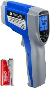 3. Etekcity 1022D Digital Infrared Dual Laser Thermometer