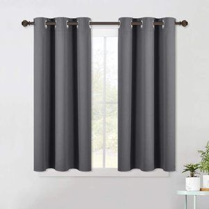 #4 NICETOWN Grey Blackout Curtain
