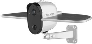 #4. SOLIOM S60 Outdoor 1080P Solar Battery Powered Camera