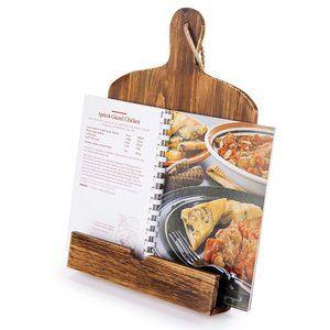 #5 Cutting Board Style Wood Holder