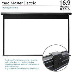 #5 Elite Screens Yard Master Electric