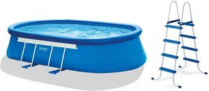 #5 Intex Oval Frame Pool Set