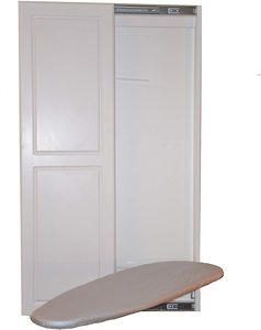 #5. Slide-Away 2-Door Wall Ironing Board