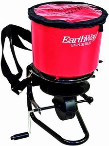 #6. Earthway Products 199435 Professional 40lb. Broadcast Spreader